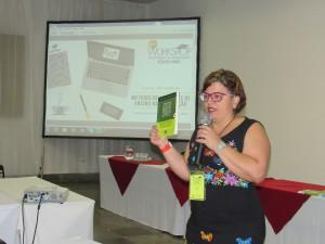 Maria Adélia, professora do CEFET-MG